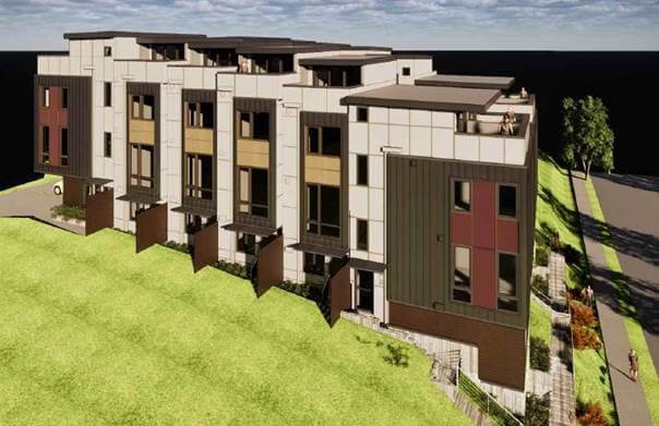Refinance/construction townhomes in Seattle, WA